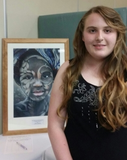 Taylor Trewartha a finalist in Young Australian Art Awards